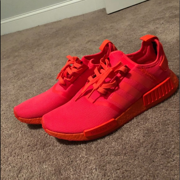 Adidas Shoes Triple Solar Red Nmd R1 Poshmark